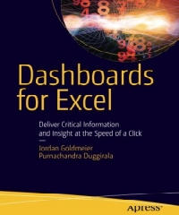 Dashboards for Excel PDF by Jordan Goldmeier and Purnachandra