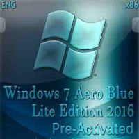 Windows 7 Aero Blue Lite Edition 2016 32bit Download