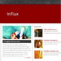 Influx WordPress Theme Nulled Free Download - ElegantThemes